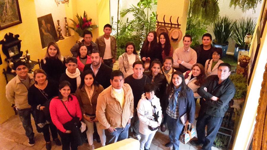 Estudiantes de Arquitectura Visitaron CASACOR