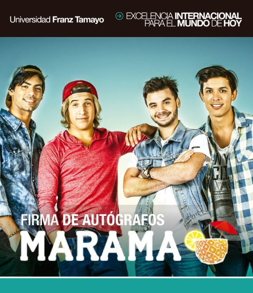 Visita Musical de MÁRAMA en UNIFRANZ Sede El Alto
