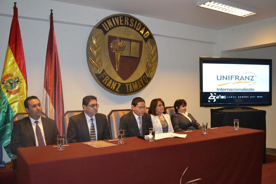 Celebración de los 23 Años de Unifranz en la Sede Cochabamba