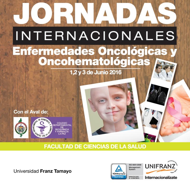 Jornadas Internacionales de Enfermedades Oncológicas y Oncohematológicas