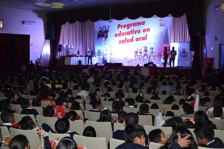 Unifranz comprometida con el cuidado de la Salud Bucal Infantil