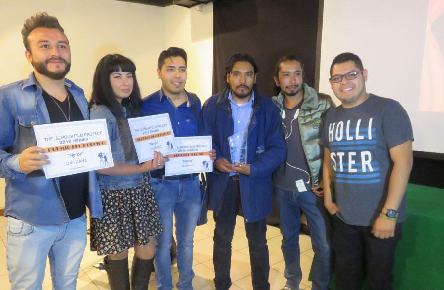 Equipo Unifranz logra 3 Premios en el