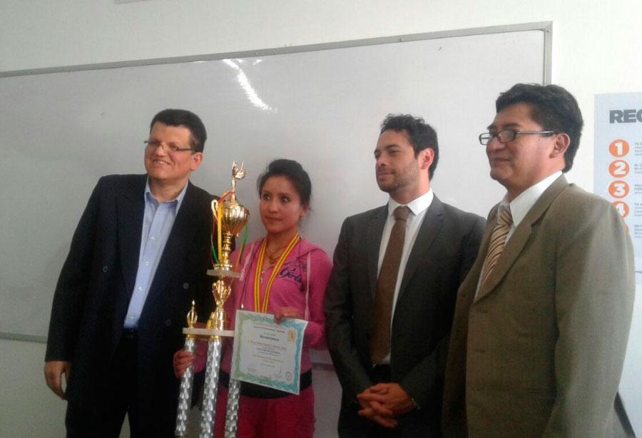 Premiación de las Olimpiadas de Microeconomía II