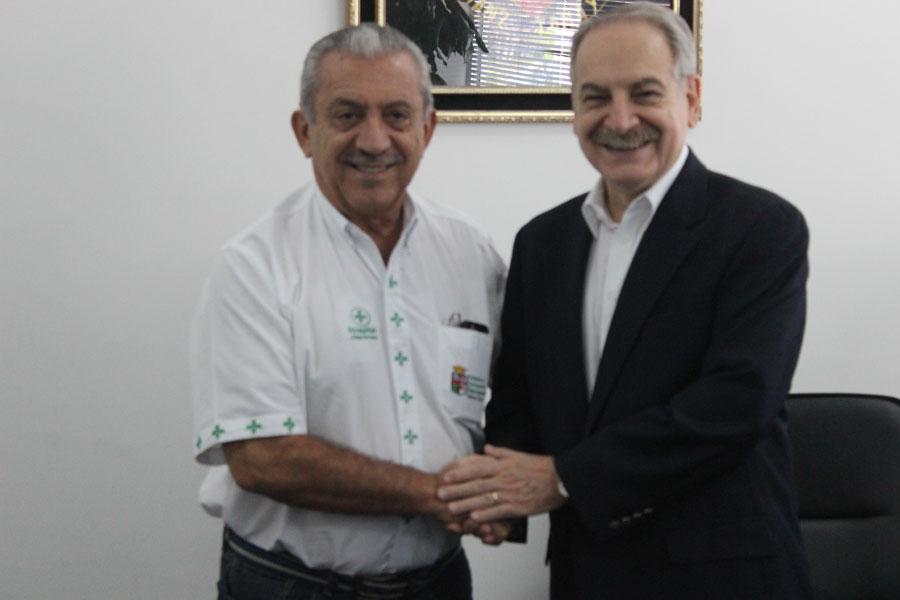 Firma de Convenio entre UNIFRANZ y la Gobernación