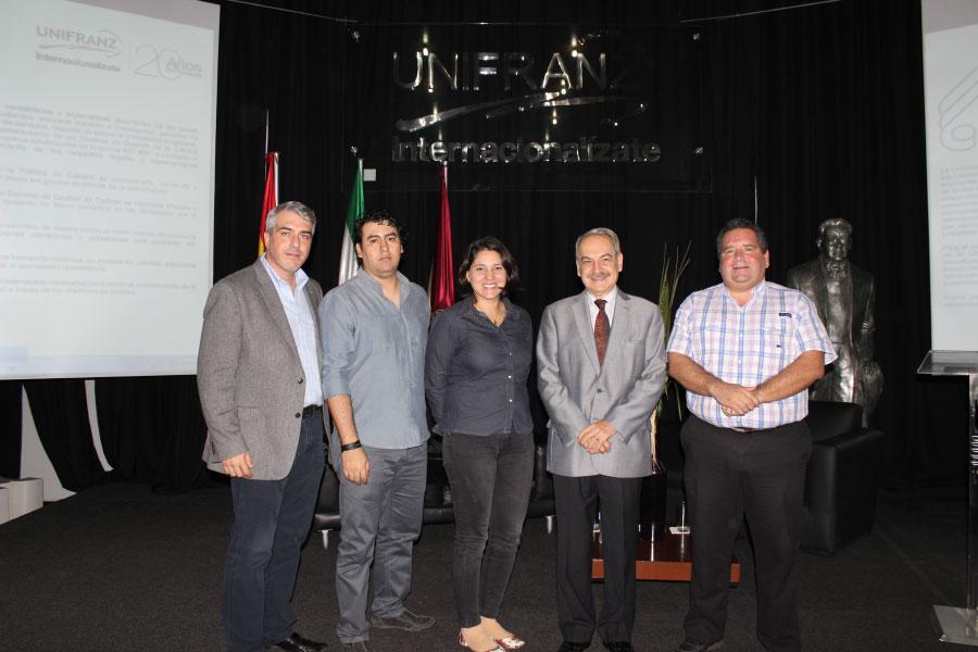Unifranz inaugura su Centro de Emprendimiento