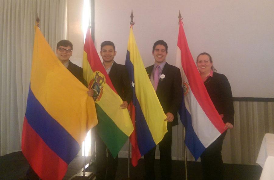 Visita al Congreso Nacional de Paraguay