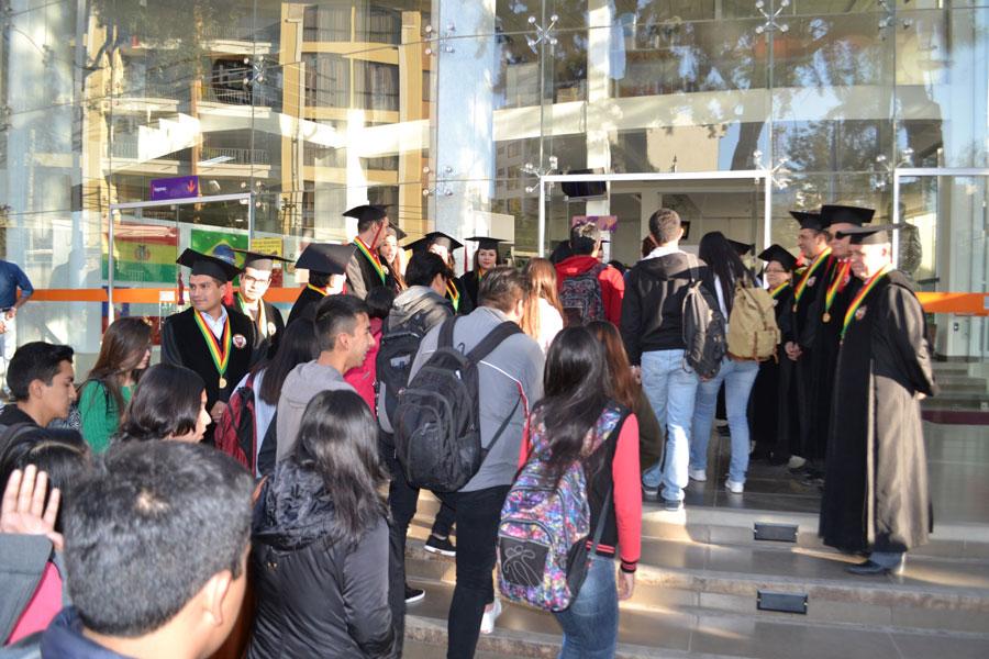 Inauguración Gestión Académica II-2017