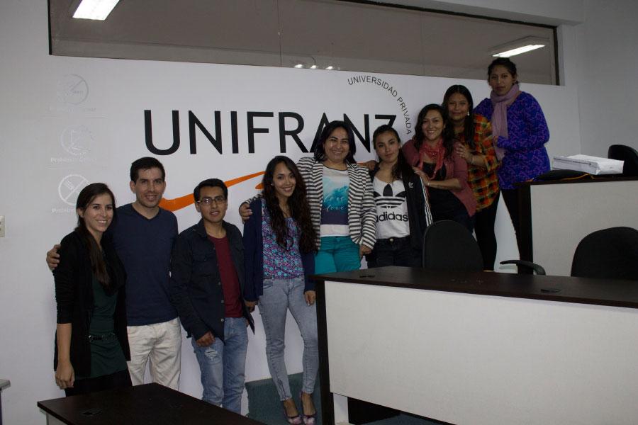 Estudiante Unifranz vivirán una Experiencia Internacional en otros Países