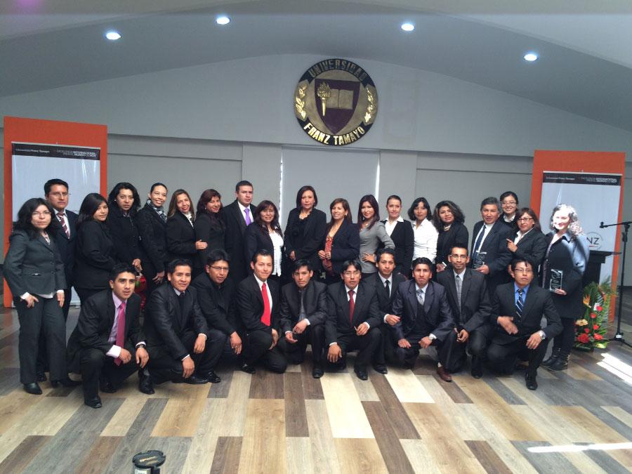 Conmemoración del XXIII aniversario de UNIFRANZ en la Sede El Alto